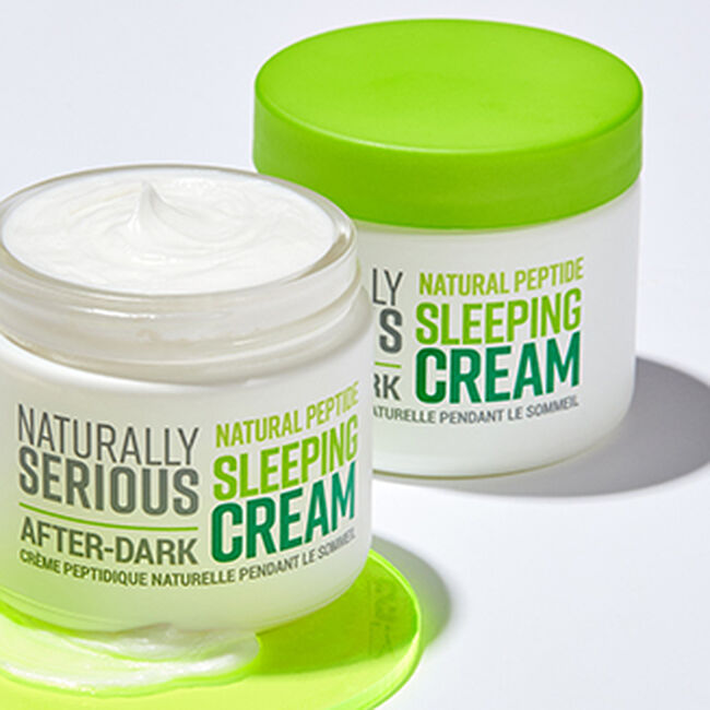 After-Dark Natural Peptide Sleeping Cream - Travel Size,