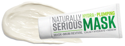 Naturally Serious Gift With Purchase – Mask-Imum Revival Hydra-Plumping Mask